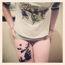Peter Pan Tattoos 17