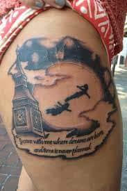 Peter Pan Tattoos 22