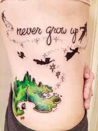 Peter Pan Tattoos 29