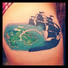 Peter Pan Tattoos 44