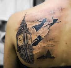 Peter Pan Tattoos 46