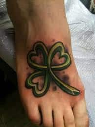 Shamrock Tattoos 3