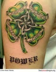 Shamrock Tattoos 30