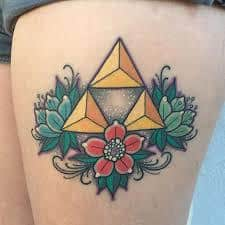 What Does Triforce Tattoo Mean 45 Ideas And Designs