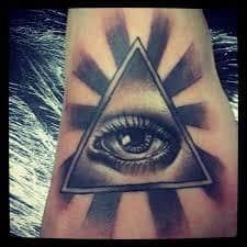 All Seeing Eye Tattoos 1