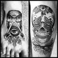 All Seeing Eye Tattoos 10
