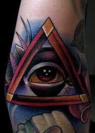 All Seeing Eye Tattoos 12