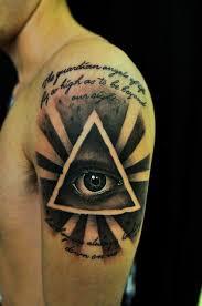 All Seeing Eye Tattoos 13