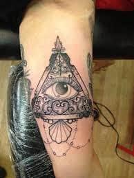 All Seeing Eye Tattoos 14