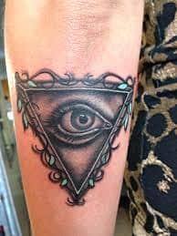 All Seeing Eye Tattoos 16