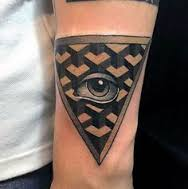 All Seeing Eye Tattoos 18