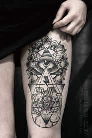 47 all seeing eye tattoo meaning ideas designs sleeve. Black Bedroom Furniture Sets. Home Design Ideas
