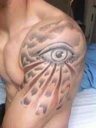 All Seeing Eye Tattoos 23