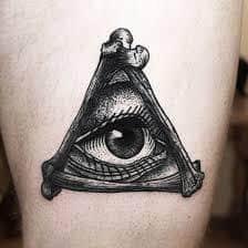 All Seeing Eye Tattoos 25