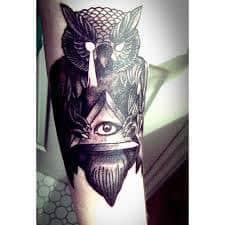All Seeing Eye Tattoos 31