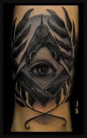 All Seeing Eye Tattoos 38