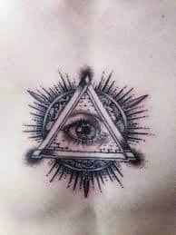 All Seeing Eye Tattoos 40