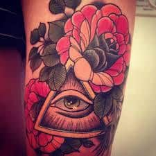All Seeing Eye Tattoos 41