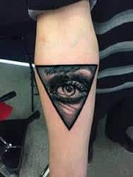 All Seeing Eye Tattoos 42
