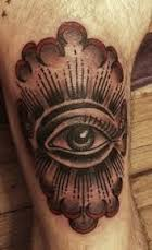 All Seeing Eye Tattoos 43
