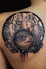 All Seeing Eye Tattoos 45