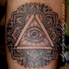 All Seeing Eye Tattoos 46