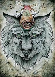 All Seeing Eye Tattoos 47