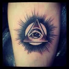 All Seeing Eye Tattoos 48
