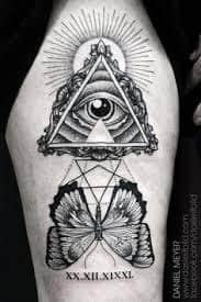 All Seeing Eye Tattoos 5