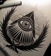 All Seeing Eye Pyramid Tattoo