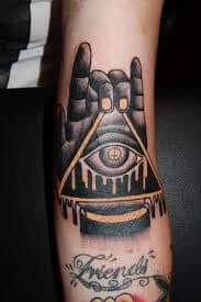 All Seeing Eye Tattoos 7