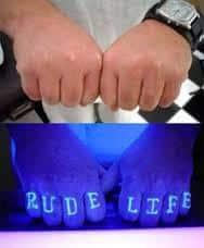 Black Light Tattoos 14