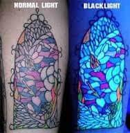 Black Light Tattoos 24