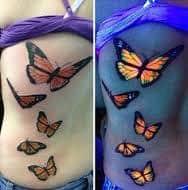 Black Light Tattoos 34
