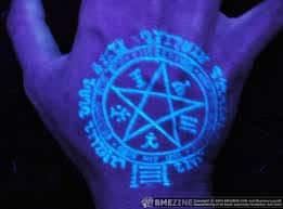 Black Light Tattoos 36