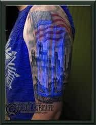 Black Light Tattoos 40
