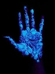 Black Light Tattoos 5