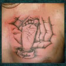 Footprint Tattoos 20