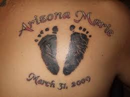 Footprint Tattoos 25