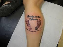 Footprint Tattoos 37