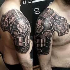Armor Tattoos 13