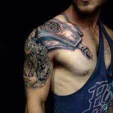 Armor Tattoos 15