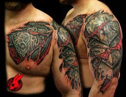 Armor Tattoos 24