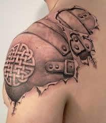 Armor Tattoos 25