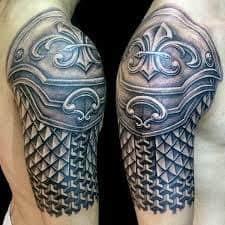 Armor Tattoos 9