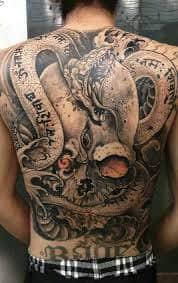Back Tattoos 34