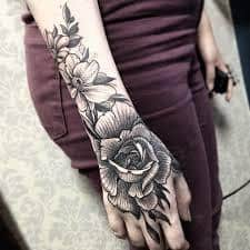 Hand Tattoos 1