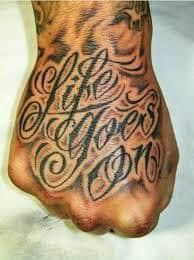 Hand Tattoos 20