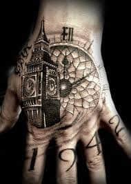 Hand Tattoos 6
