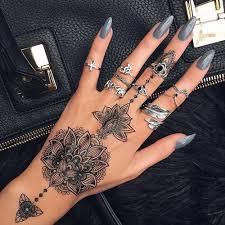 Hand Tattoos 9